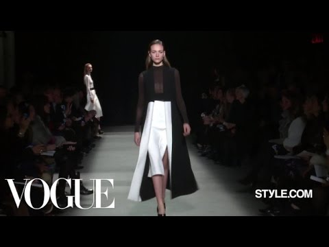 Narciso Rodriguez Fall 2015 Ready-to-Wear - Fashion Show - Style.com
