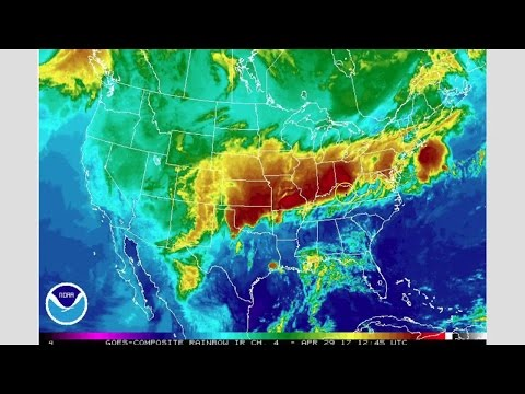 30 April 2017. Humans in America 100.000 years ago, Mega Storm in US, Nuclear sub in Panama.