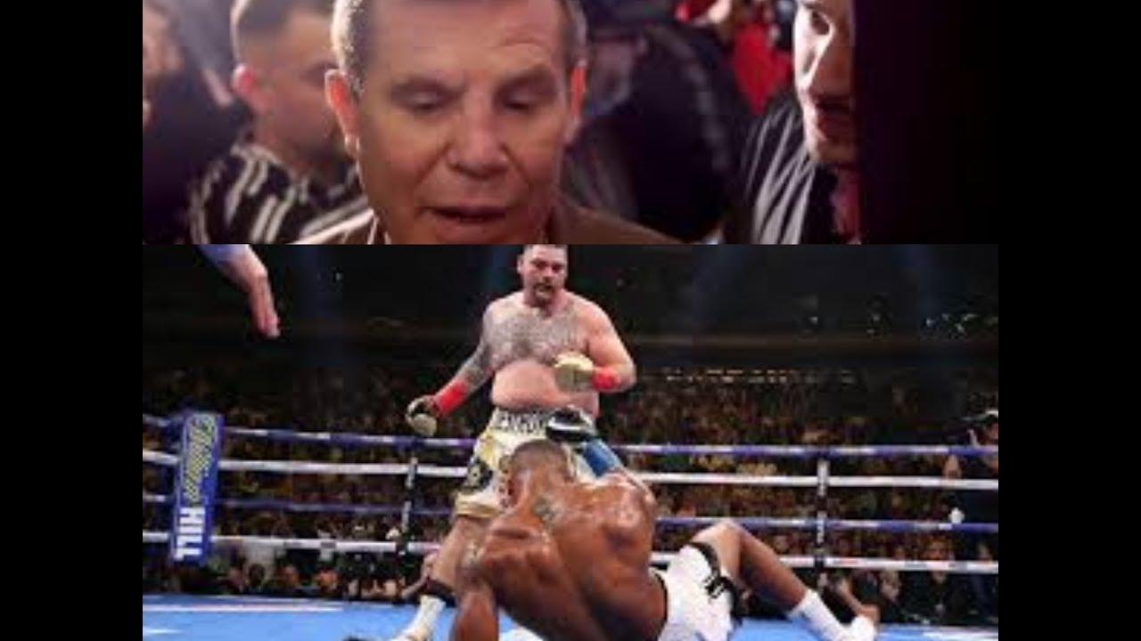 Resultado de imagen para Andy Ruiz Jr con Julio Cesar Chavez