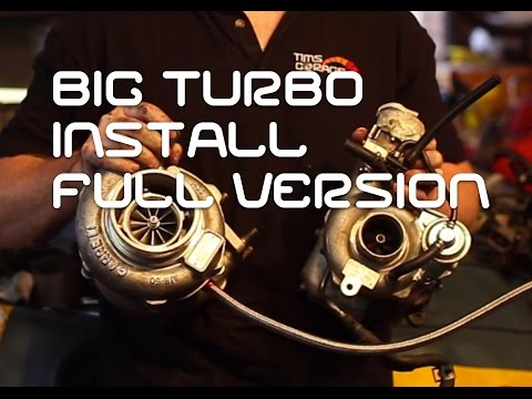 GTX3071 Turbo install on Mazda 6 MPS (the full version)