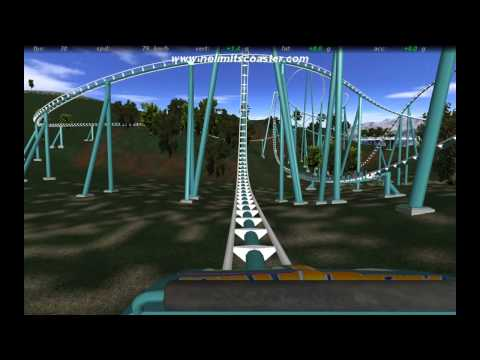 No Limits Coaster: Petrol-Park-Express