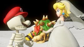 Super Mario Odyssey - Final Boss with Skeleton Mario