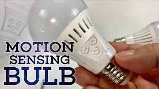 Elrigs Motion Sensor Led Light Bulbs Review Youtube