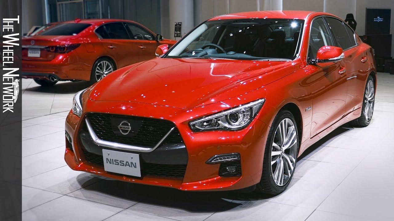 2020 Nissan Skyline Exterior Interior Japanese Spec Infiniti Q50