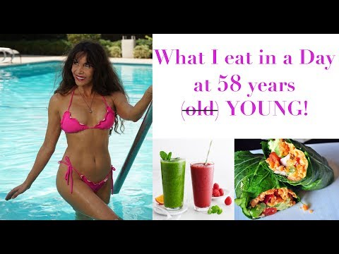 What I Eat in a Day... 58 years young and Raw Vegan!