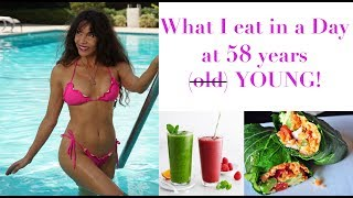 What I Eat in a Day | 58 years young and Raw Vegan!