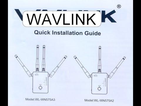USER MANUAL WAVLINK AC1200 WL-WN575A3 WL-WN575A2