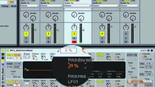 Ableton Live Tutorial - Creating an 808 Kick Deep Bass Sound with Analog