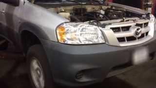 Ford Escape/Mazda Tribute 2.3L Rod Bearing Failure, Engine Knocking Loud!