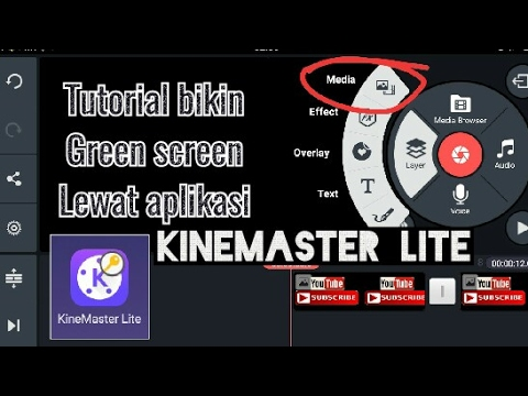 Tutorial video GREEN SCREEN #KINE MASTER LITE - YouTube