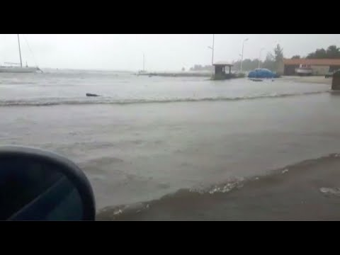 RAW VIDEO: Hurricane Irma in the U.S. Virgin Islands