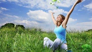 Фитнес на природе. Формируем бока и живот.