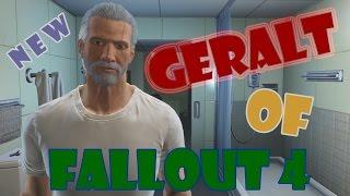 Создаём персонажа в Fallout 4 [ New Геральт из Ривии ]