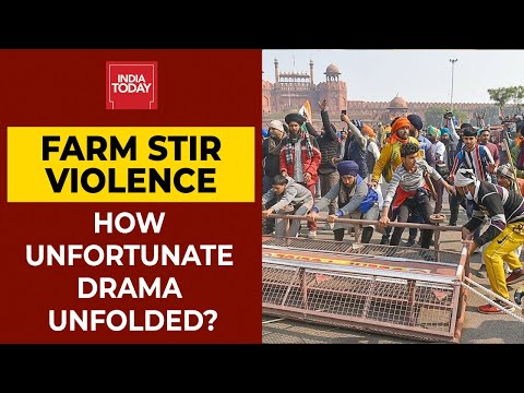 Farmers' Tractor Rally Turns Violent; How Unfortunate Drama Was Unfolded? | India Today thumbnail