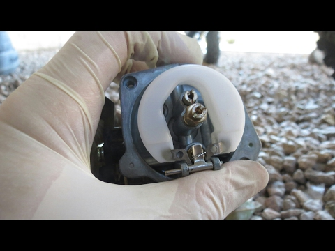 how to clean carburetor on a pitbike