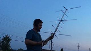 SO-50 Satellite Pass Using An Arrow Antenna And HT
