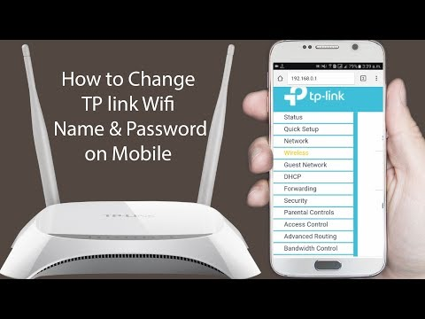 How to change wifi password tp link repeater