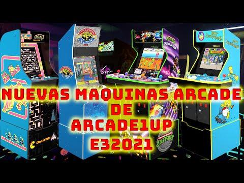 Las Nuevas Maquinas Anunciadas de Arcade1UP from Jae R Podcast