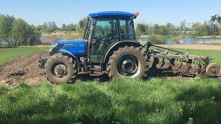 Оранка на тракторі Solis 105