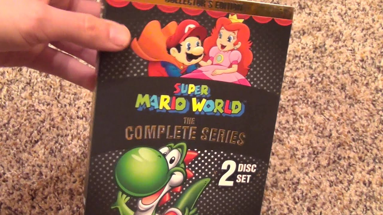 Super Mario World The Complete Series DVD 2 Disc Set Unboxing YouTube