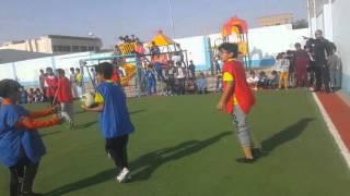 المباراة النهائية في دوري ابتدائية الرواد بريدة