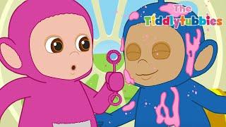 Teletubbies ★ NEW Tiddlytubbies Season 2! ★ Tubby Custard Bubble Zorbing ★ Cartoon for Kids