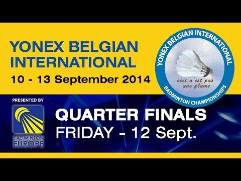 QF - MS - Emil Holst vs Eric Pang - 2014 Yonex   Belgian International