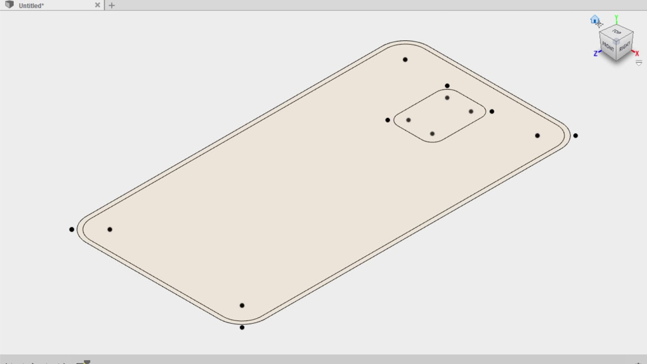 how to make a phone case in fusion 360
