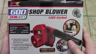 Performance tool shop blower quick review