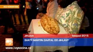 Svatý Martin zavítal do Jihlavy