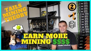 How to earn MORE MONEY with Crypto Mining - Tails Mining Theory - HUSH/ZEN/KMD/BTC