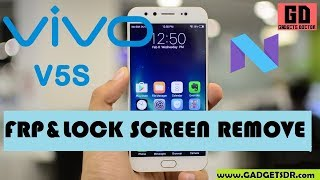 Remove Lock Screen and FRP Bypass Google Account For Vivo V5S -Very Easy -Android -7 -2017