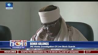 Benue Killings: JNI Cautions Against Accusing Fulani Herdsmen