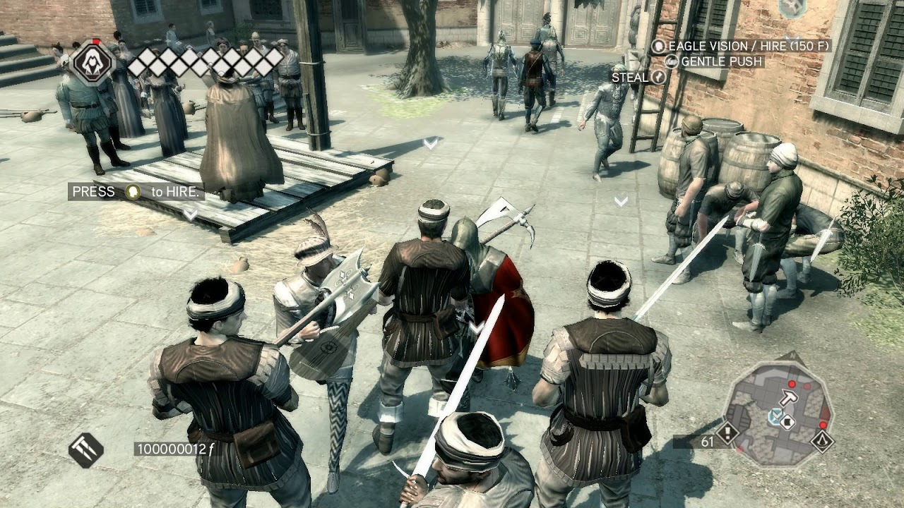 how to hack Assassin's Creed II with cheat engine