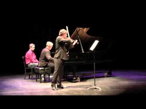 Mozart Sonata K 304 E minor (Wolfgang David, violin)
