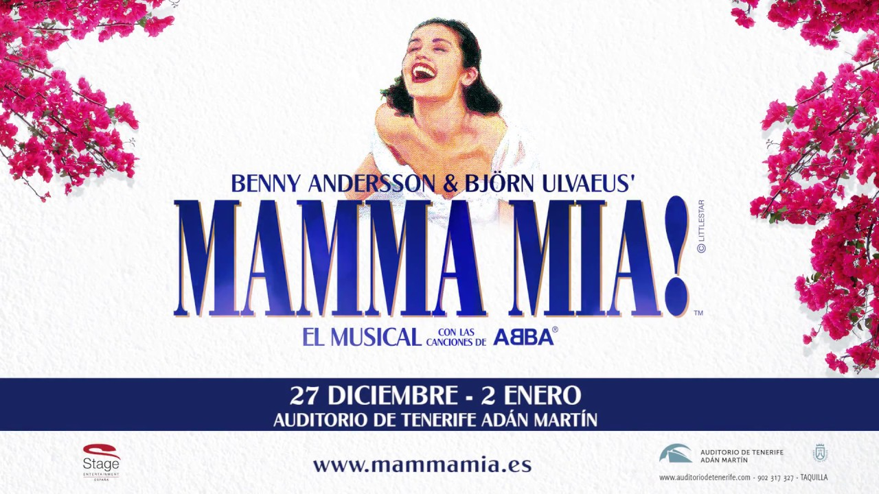 Mamma Mia, el musical en el Auditorio de Tenerife - YouTube