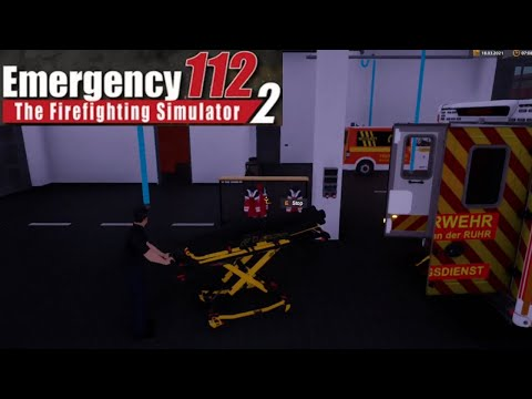 Emergency Call 112 – The Fire Fighting Simulation 2 | The Ambulance + Responding to call |