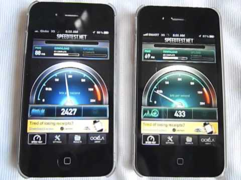 Globe vs Smart 3G comparison test: Malate, Manila