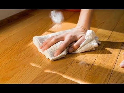 Чем лучше отмыть линолеум в домашних условиях