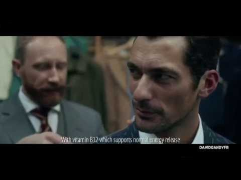 David Gandy for Wellman Vitamins (Full TV ad)