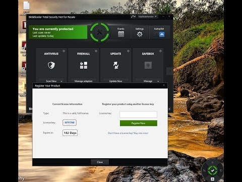 Share Bitdefender Total Security 2014 License Key 6 months