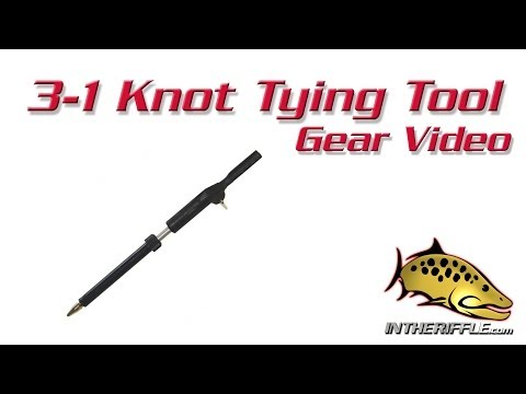 3-1 Tier Tippet Knot Tying Tool | Tippet Leader Knot Tyer Tool