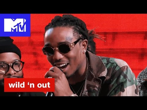 Thumbnail: Quavo of Migos Calls Nick Cannon's Hat Alligator Ass | Wild 'N Out | #Wildstyle