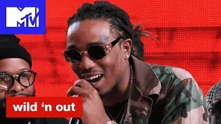 Download Quavo of Migos Calls Nick Cannon's Hat Alligator Ass | Wild 'N Out | #Wildstyle Mp3 and Videos