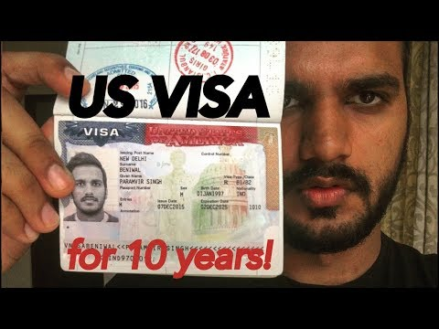 Get USA Visa For 10years | हिंदी | Visa Process | Interview | Documents | Interview Qs