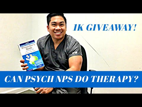 can-psych-nurse-practitioners-do-therapy-?-and...-1000-subscriber-giveaway!