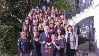 President Trump Congratulates the Collegiate National Champions of 2016/2017 2017 Video