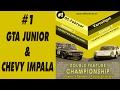 GT LEGENDS - DOUBLE FEATURE CHAMPIONSHIP - Varosliget (Ita) - Alfa Romeo GTA & Chevy Impala