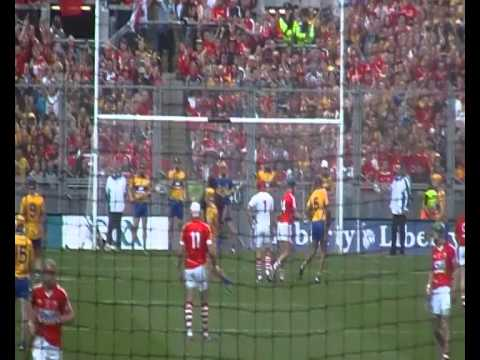 Goal by Anthony Nash of Cork v Clare All-Ireland Hurling Final
