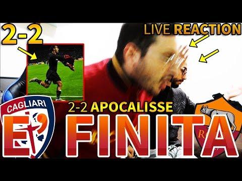 2-2 APOCALISSE - È FINITA. CAGLIARI-ROMA [LIVE REACTION]